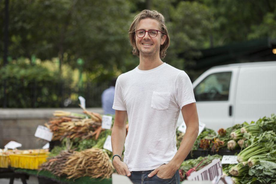 Lukas Volger is reinventing the veggie burger