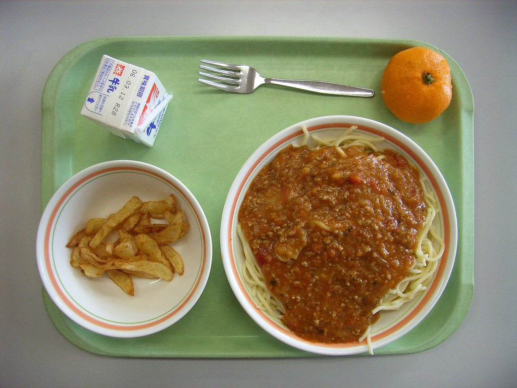 Many school lunches in New York receive bad grades