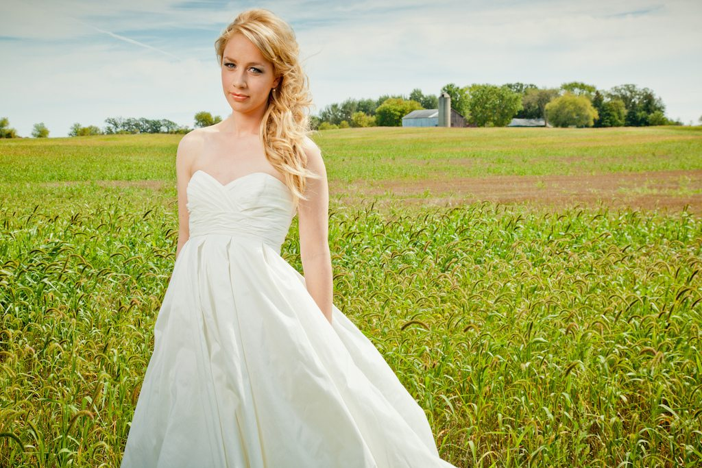 Could this farmer be your bride?