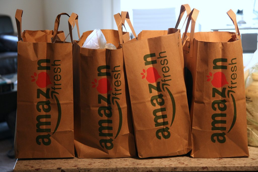 Amazon is expanding aggressively into the groceries game
