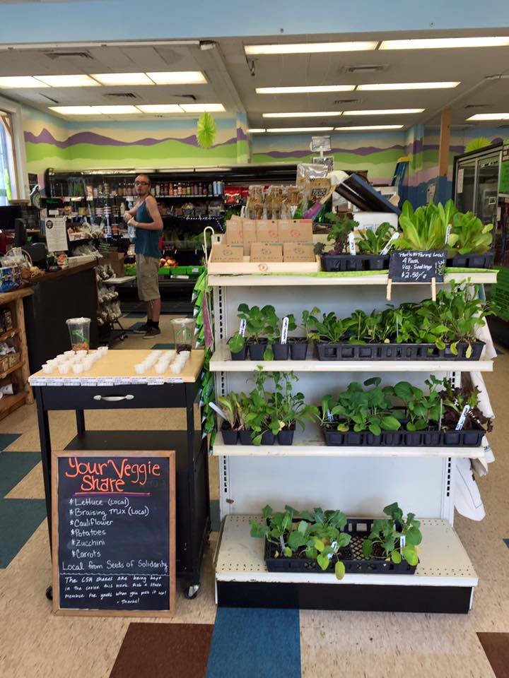 Inside the Quabbin Harvest Food Co-op