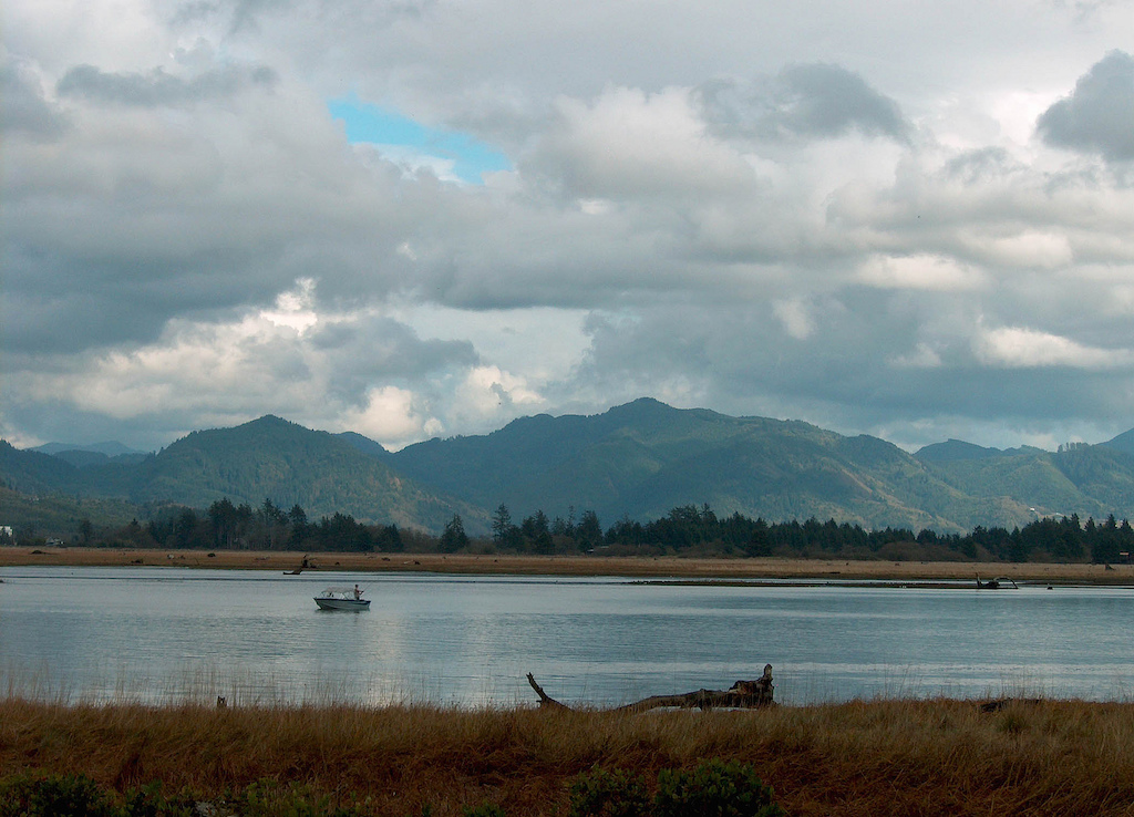 a view of Tillamook Bay