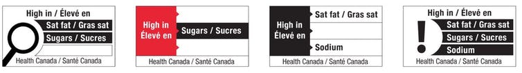 Canada's new health labels