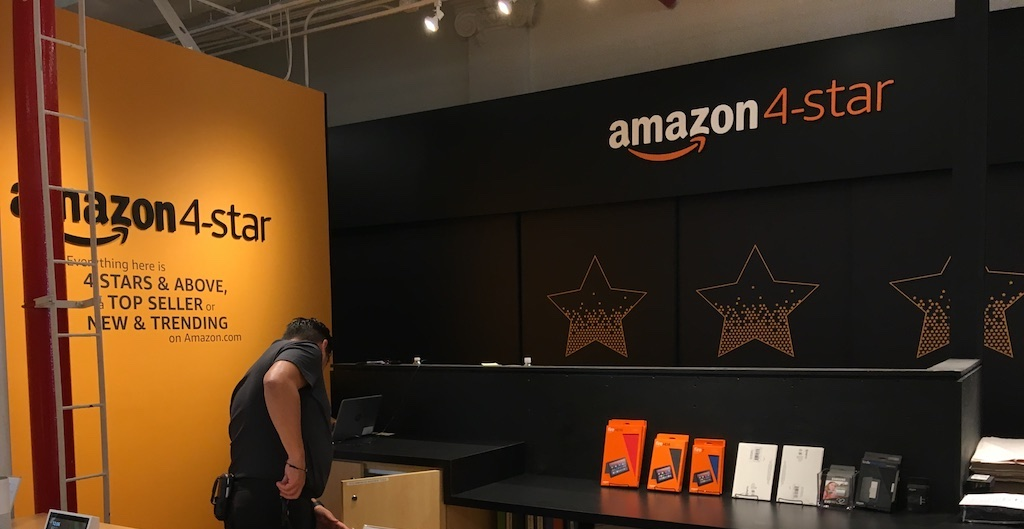 Amazon's new 4-star concedes that brick-and-mortar retail will never die—and Amazon has a big advantage on that front: customer data. Credit: Joe Fassler, September 2018
