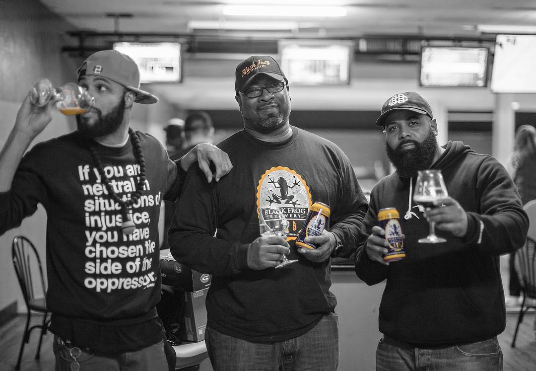 1,200 people showed up for the country's first ever black craft beer festival