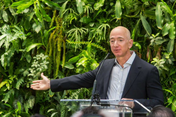 Jeff Bezos may not have announced an HQ2 finalist. But Amazon is headed to Washington, D.C. either way