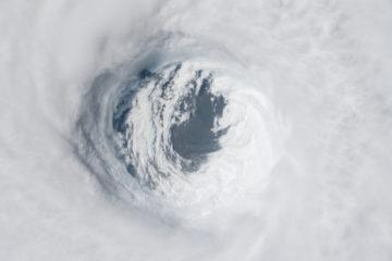Hurricane Michael devastated on agriculture in Florida, Georgia, and Alabama. Credit: NASA, October 2018