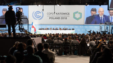The UN Climate Conference in Poland, COP 24, will feature a menu with a lot of meat. Credit: Flickr / UN Climate Change, December 2018