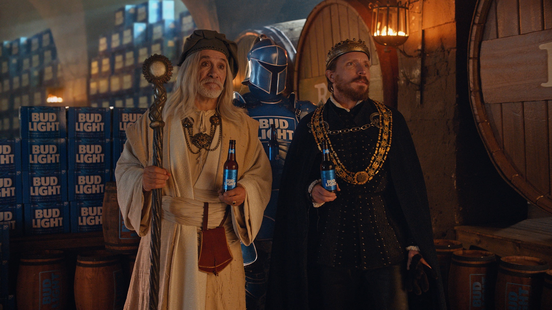 An still from the Super Bowl LIII ad that started a feud between Bud Light and the National Corn Growers Association, February 2019
