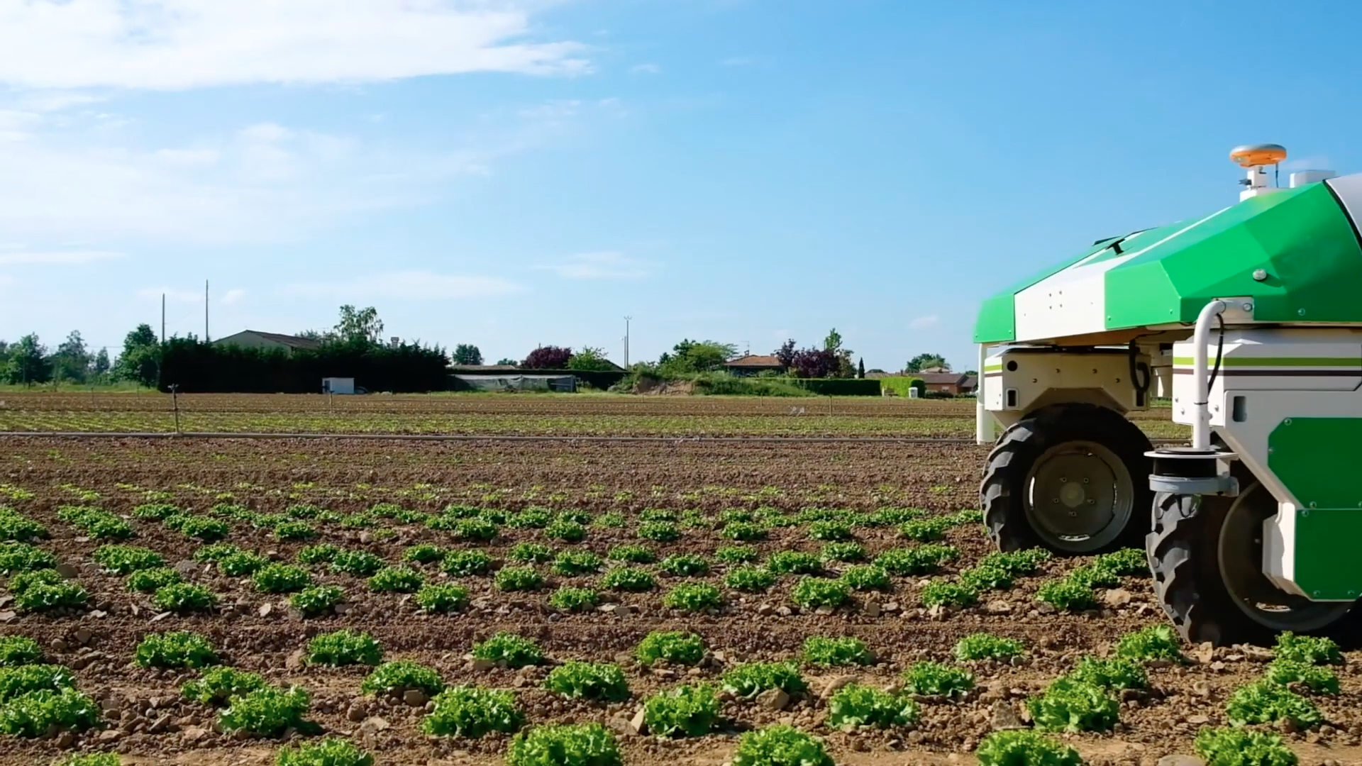 With the most popular herbicides falling from favor, can robots dispatch with our weeds? Credit: Naio Technologies, April 2019