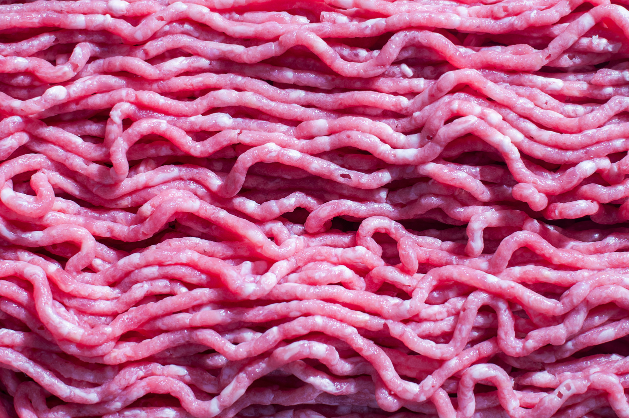 Fresh raw beef, Minced meat