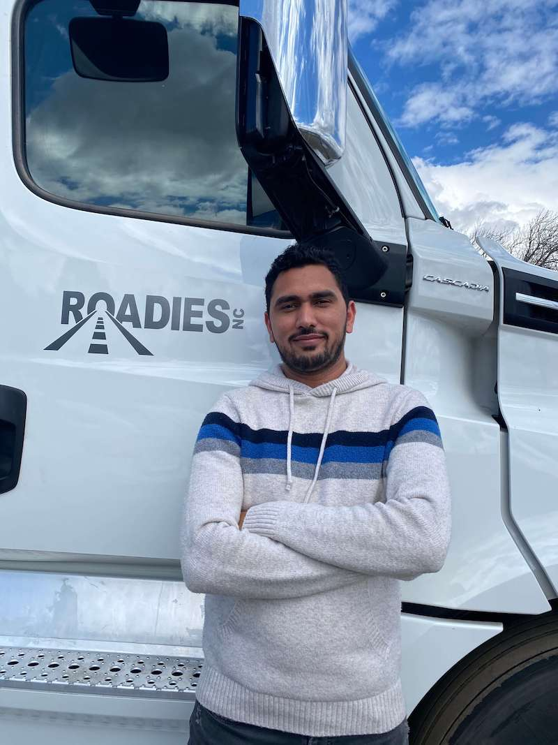 Truckers like Jay Singh keep groceries on the shelves at supermarkets. But for him, restrooms, food, and places to sleep are in short supply.