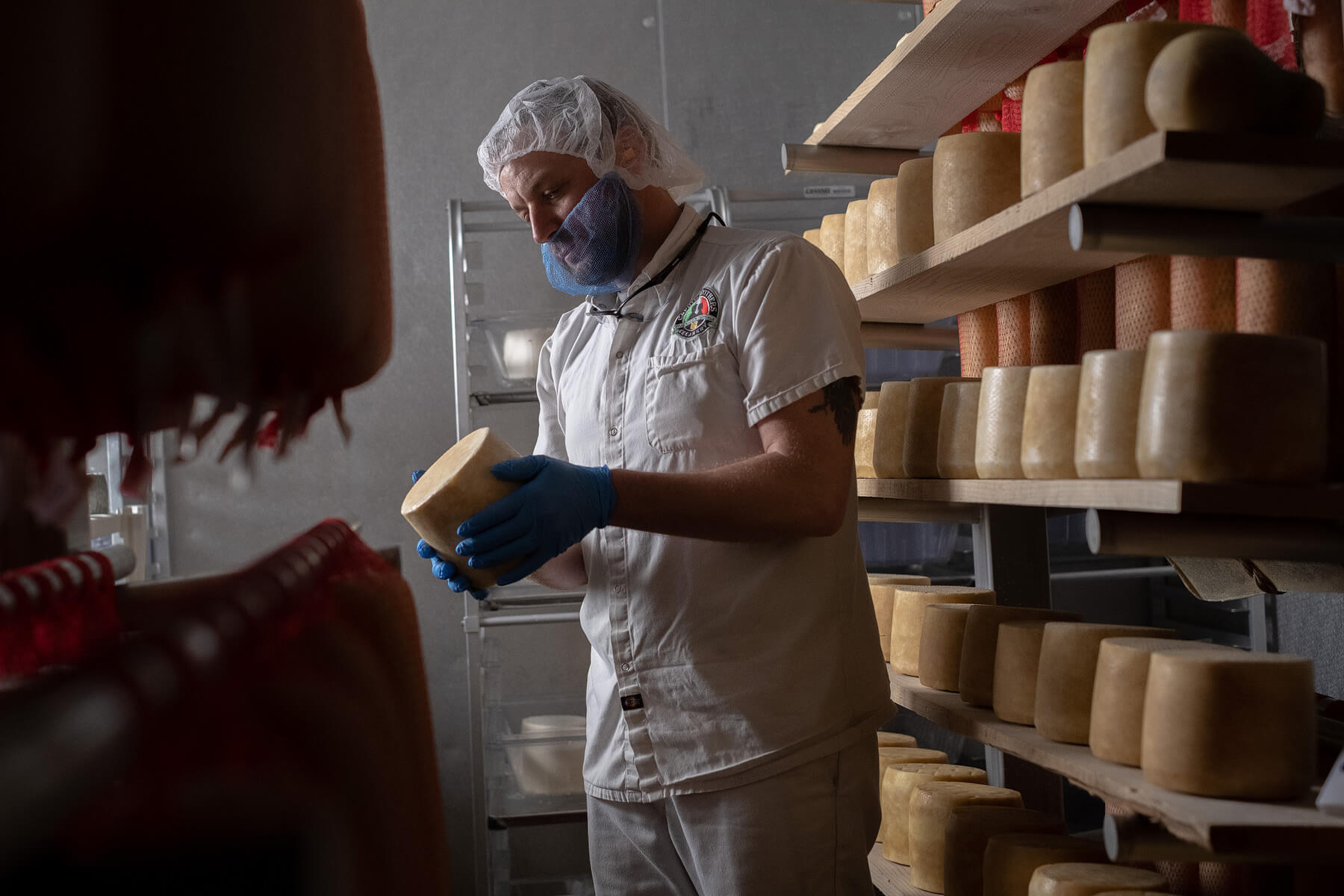 Caputo Brothers Creamery is struggling to place orders in the wake of covid-19 (March 2020)