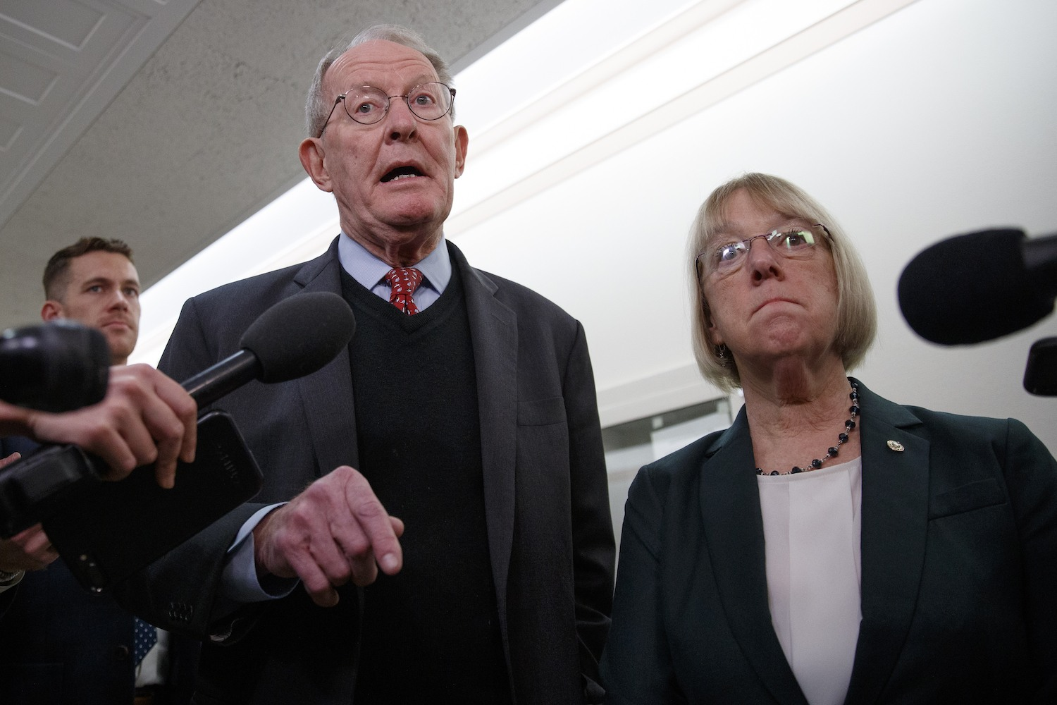 Patty Murray and Lamar Alexander