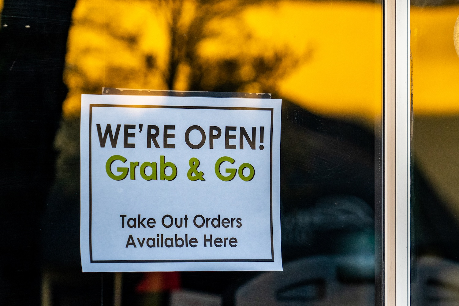 grab and go restaurant Everett, Washington covid-19 March 2020