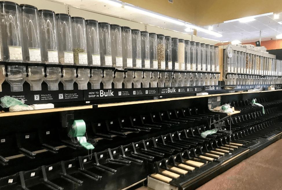 Whole Foods bulk Cambridge Mass. April 2020