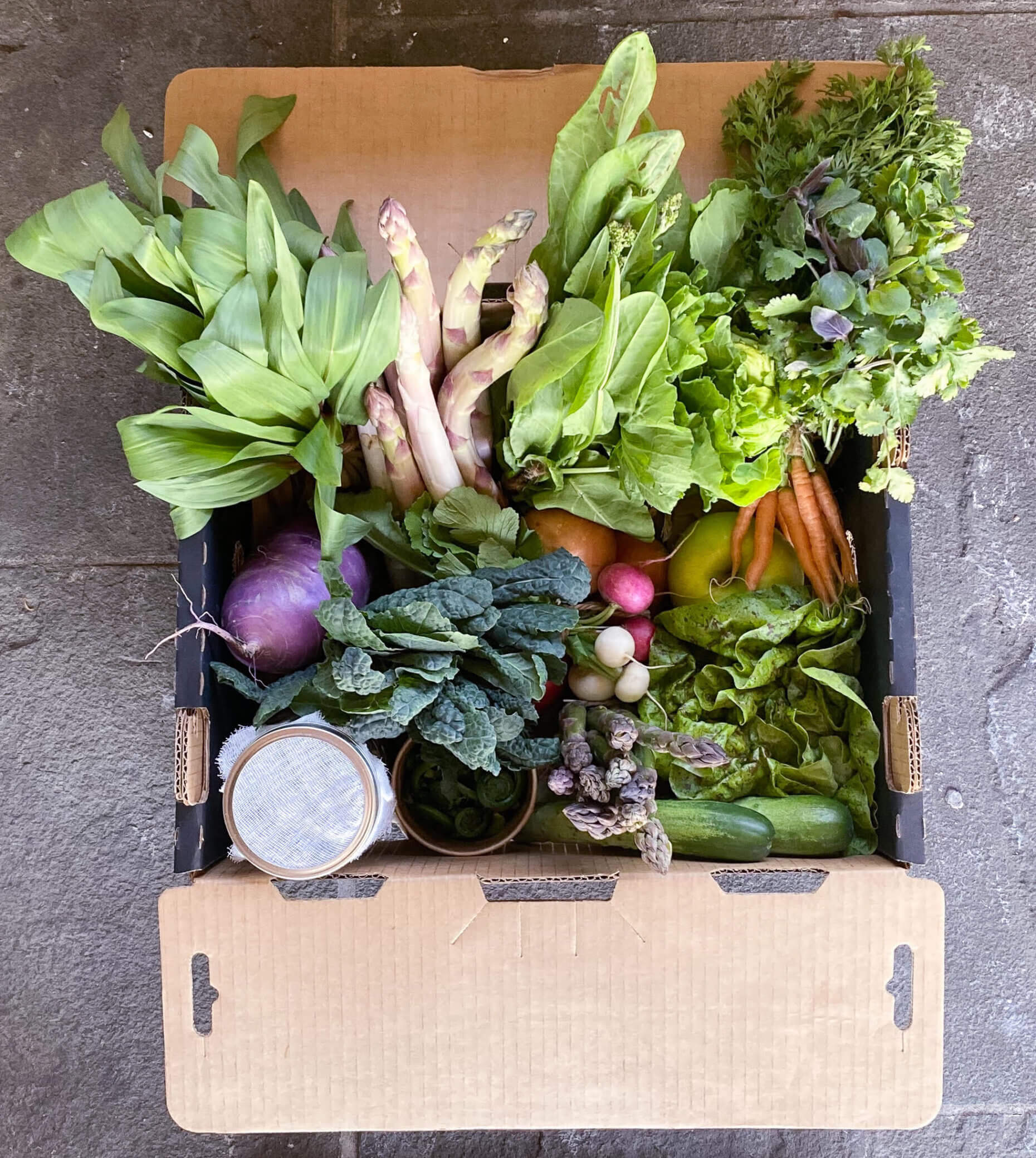 ResourcED, a project Dan Barber and his colleagues created, have sold market boxes that include produce, as well as a grass-fed beef, fisheries, pastry, and bread box, at both of his restaurants. But their future trajectory could soon change.