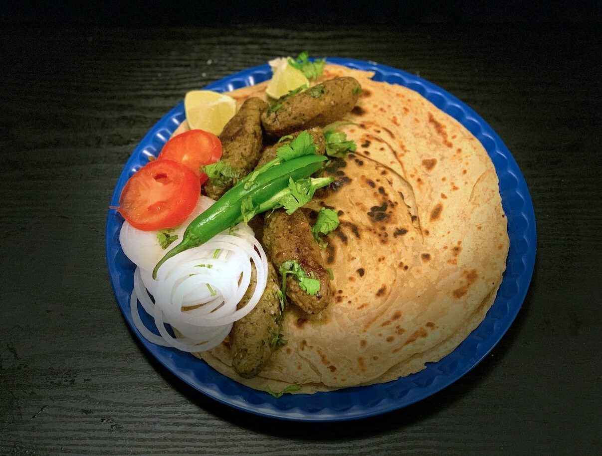 Gola Kabab with Parathas for Eid July 2020