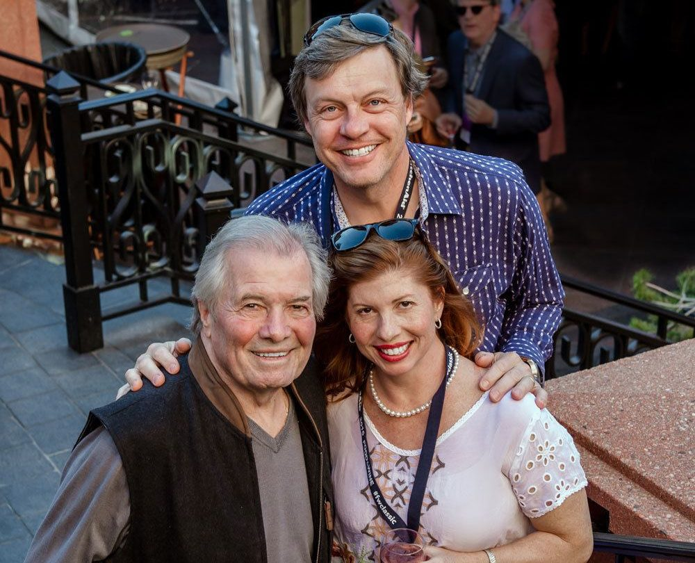Jacques Pepin, Rollie Wesen, and Caludine Pepin family portrait. June 2021